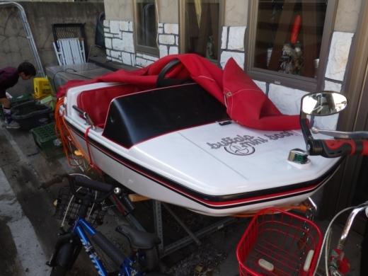ボート改造計画 (1)