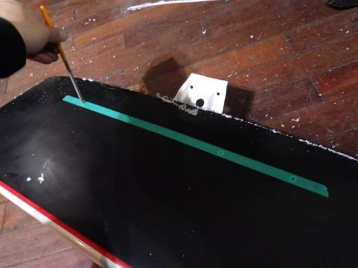 ミニボート改造 (3)