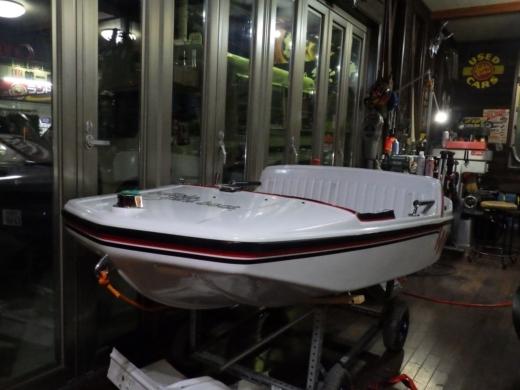 ミニボート改造 (9)