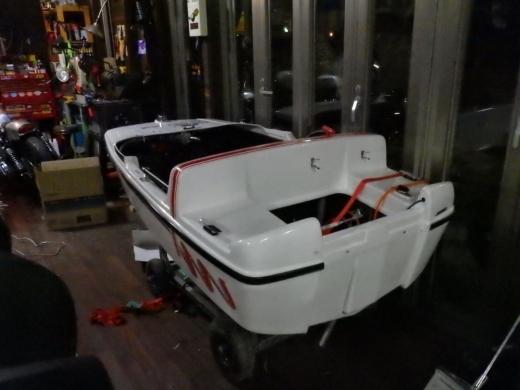 ミニボート改造 (20)