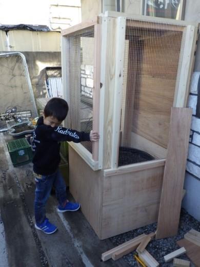 カブトムシ小屋作成 (54)