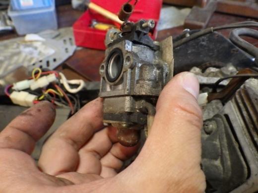 エンジン付きキックボード分解 (30)