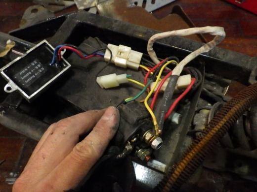 エンジン付きキックボード分解 (35)