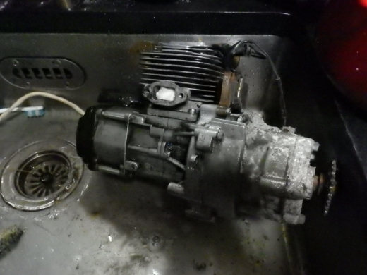 エンジン付きキックボード分解 (43)