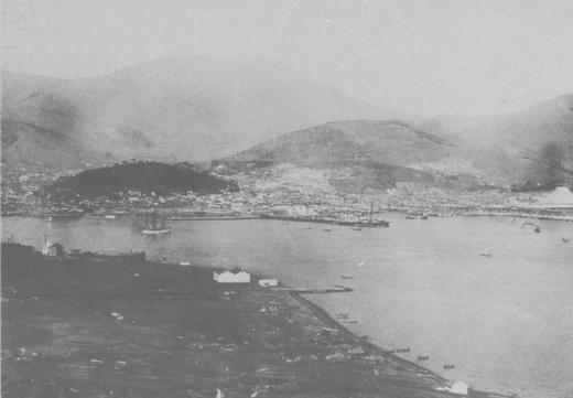 朝鮮港湾釜山港1