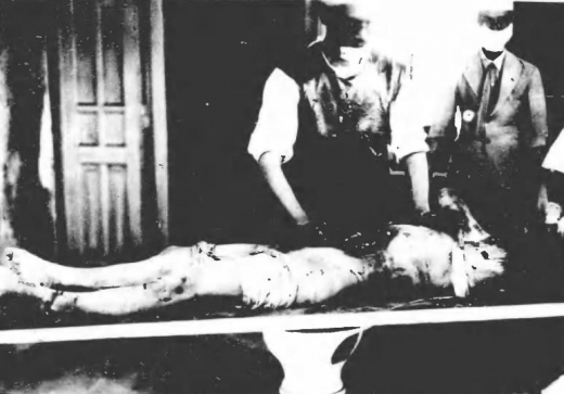 済南事件日本人惨殺遺体11