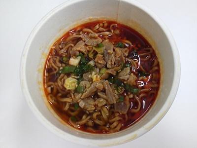 ラー油肉蕎麦_05