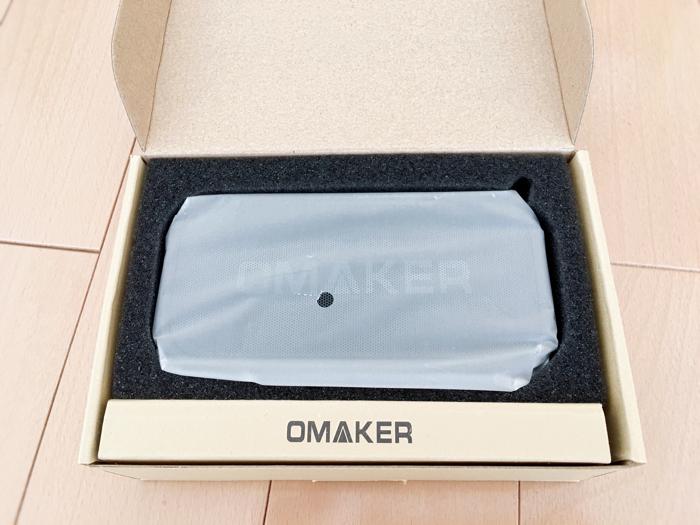 OMAKER M6 bluetoothスピーカーレビュー包装