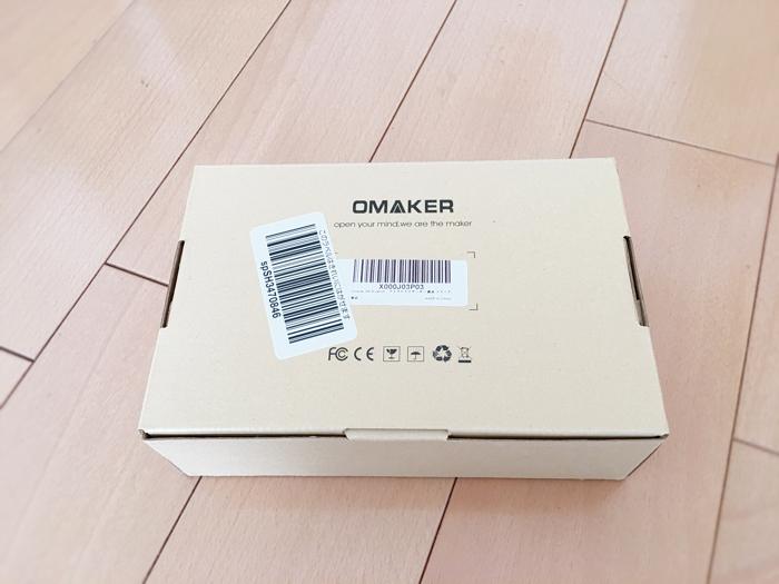 OMAKER M6 bluetoothスピーカーレビュー箱