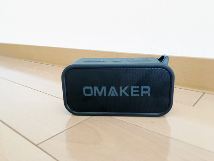 OMAKER M6 bluetoothスピーカーレビュー外観