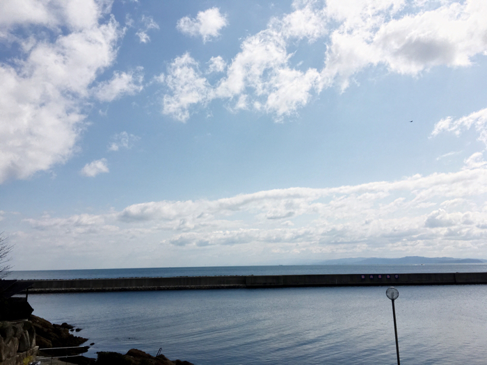 淡路島旅行ホテルニューアワジ風呂からの眺め