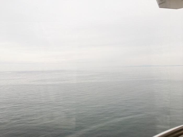 淡路島旅行おのころ観覧車からの海の眺め