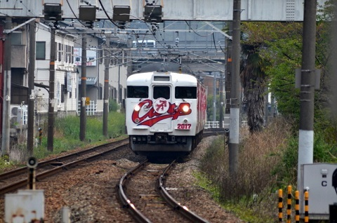 4月21日カープ列車
