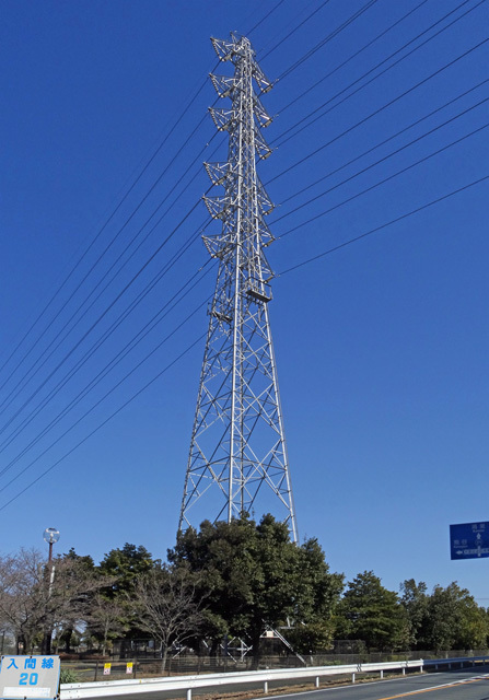 入間線20号鉄塔