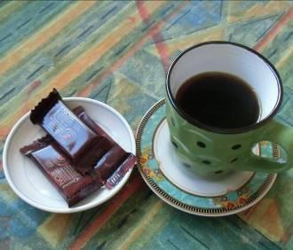 マダガスカル現地コーヒーとチョコ