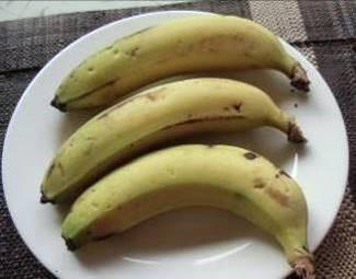 食物繊維豊富なバナナ