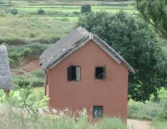 マダガスカルの思い出 農村の家