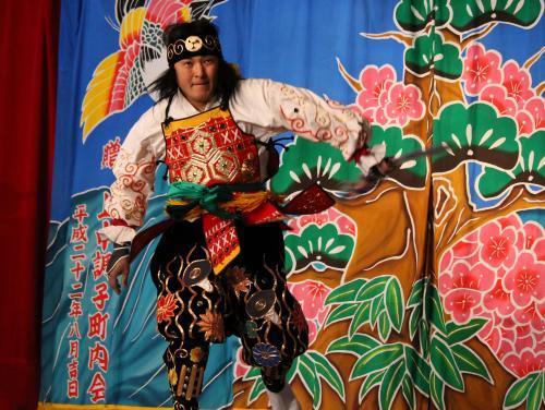 阿刀神楽団 なぎなたの舞3