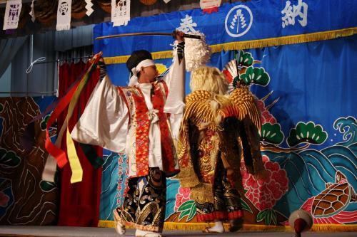 阿刀神楽団 世鬼の舞3