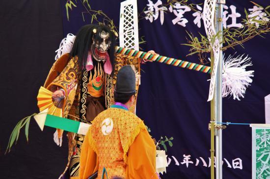 河津原神楽団 柴鬼神2