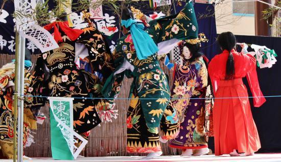 上沼田神楽保存会 天の岩戸2