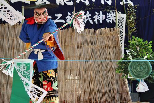 上沼田神楽保存会 天の岩戸10
