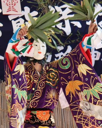 上沼田神楽保存会 天の岩戸11
