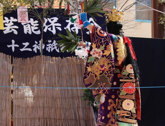 上沼田神楽保存会 天の岩戸12