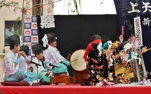 上沼田神楽保存会 天の岩戸13