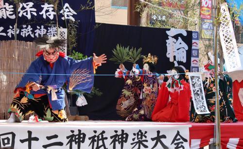 上沼田神楽保存会 天の岩戸14