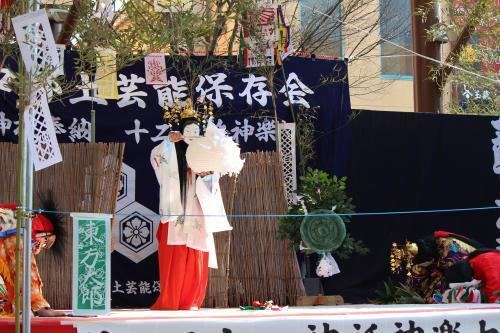 上沼田神楽保存会 天の岩戸16