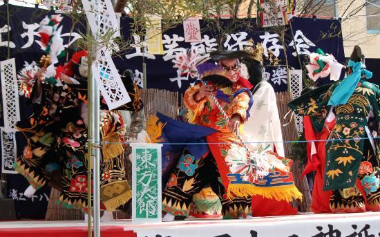 上沼田神楽保存会 天の岩戸17