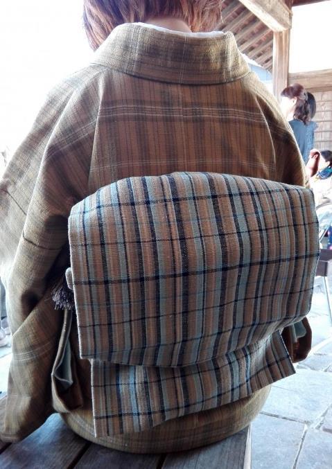 丹波布着物帯