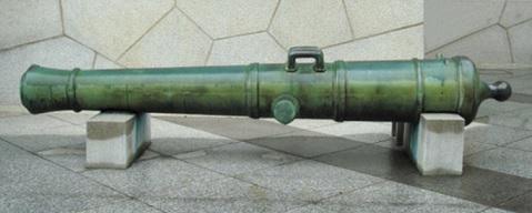 2017-2-23品川台場の80ポンドカノン砲
