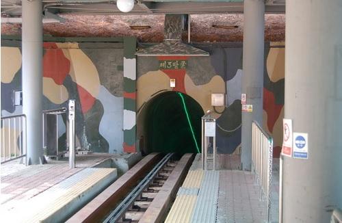 2017-4-25軍事境界線第三トンネル