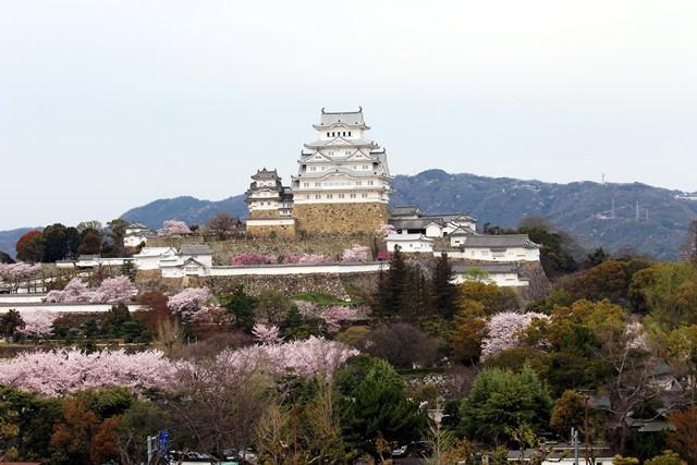 姫路城 遠景 正面