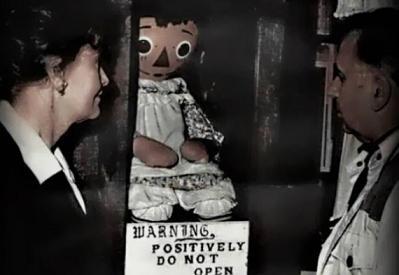 アナベル人形(実物)