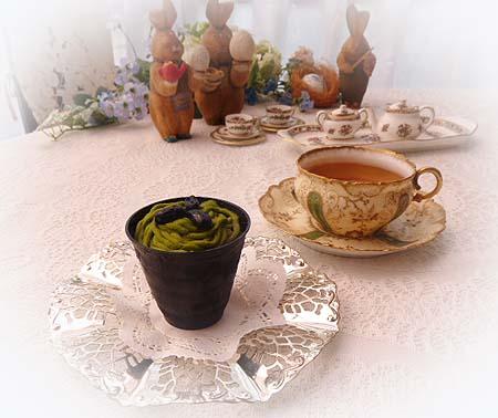抹茶モンブラン ディンブラ