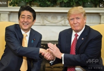 news日米首脳会談、安保・貿易での関係強化で一致2