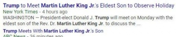 tokMartin Luther King, Jr Trump