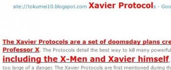 tokThe Xavier Protocols