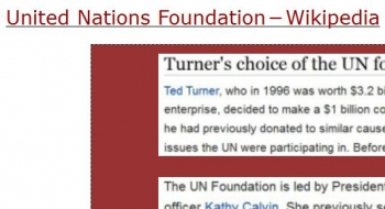 tenUnited Nations Foundation