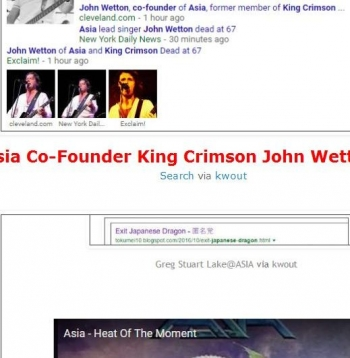 tokAsia Co-Founder King Crimson John Wetton