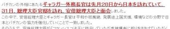 tok安倍首相 ローマ法王の日本訪問を要請