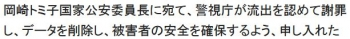 wiki警視庁国際テロ捜査情報流出事件2