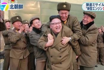 news北朝鮮 ミサイル用新型エンジン地上燃焼実験 成功と発表2