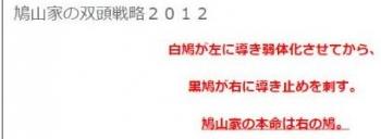 tok鳩山家の双頭戦略2012