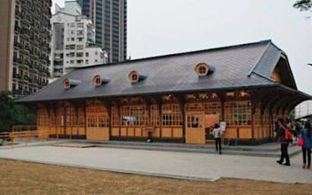 news日本時代の駅舎再建=開設101年、人気スポットに―台湾2