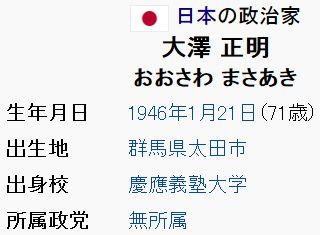 wiki大澤正明