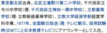 wiki古舘伊知郎